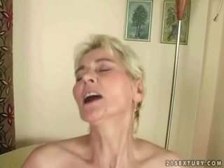 Boy fucks hot granny