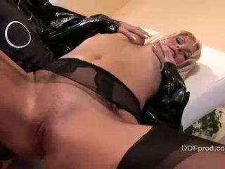 Hawt Blond Kathy Anderson Fucking A Big Dildo