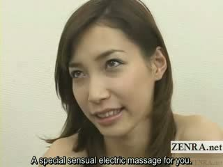 jap lingerie stripping and vibrator play subtitled
