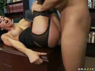 Rallig floozy haley wilde receives sie muschi stabbed tief mit ein thick shaft hinter