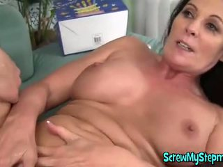 Hot Milf Gets Her Pussy Drilled