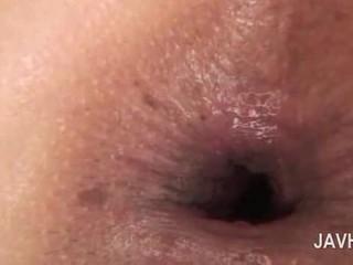 एशियन एनल क्रीमपाइ में close-up साथ नग्न हॉर्नी बेब