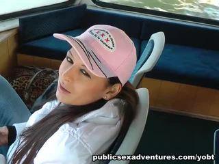 Amateur Public Xxx Onto The Ferry
