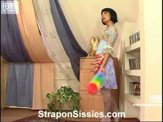 strap-on, strap on bitches porno, vrouwelijke dominantie scène