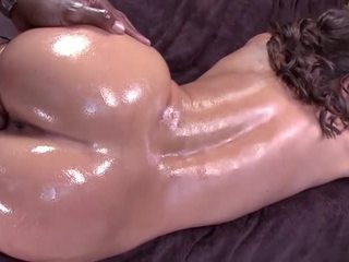 Olivia gets fucked with a black cock
