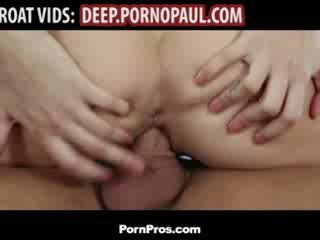 Sexy girl fucked after deepthroating