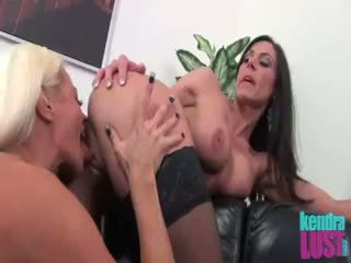 Kendra Lust With Russian Call Girl Nikita Von James