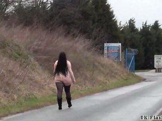 naked, fat vid, public video