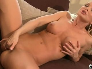 Smutty Sylvia Saint Thumps Her Beloved Toy In And Out Her Beaver