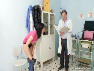 Pavlina Gyno Pussy Speculum Examination On Gynochair At Kinky Clinic