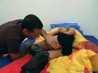Doll Drilled Inside Her SLeep