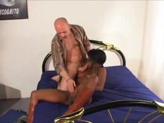 frans, echt zwart en ebony kanaal, groot anaal kanaal