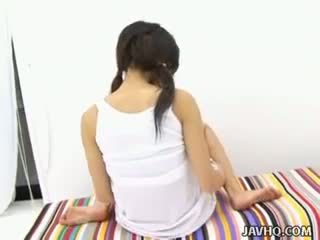 Haruka aida nxehtë aziatike adoleshent solo