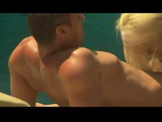 Olivia del Rio gives a faceful of flange while Carmen Luvana fucks a hard prick