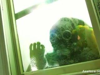 Asa akira - 殭屍 肛門 體內射精
