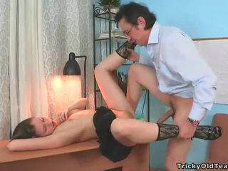Wild banging with young chick