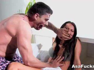 Asa akira's zombie anal ejaculação interna