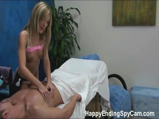 Our Hidden Spy Cameras Caught Amy The Massage Therapist Giving More Than The Massage!