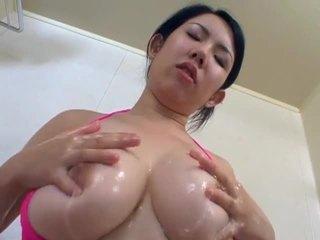 japanse, grote borsten film, heetste masturberen video-