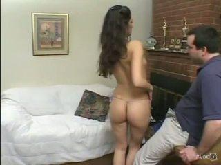 brunette fuck, free deepthroat, small-boobs