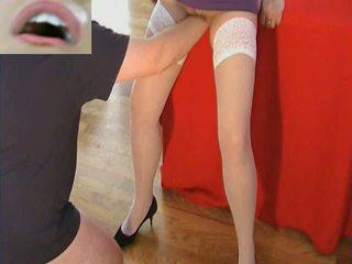 vers kut, lingerie klem, kwaliteit video scène