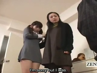 Subtitle सीफएनएम जपानीस स्कूलगर्ल और मिल्फ पकड़ peeper