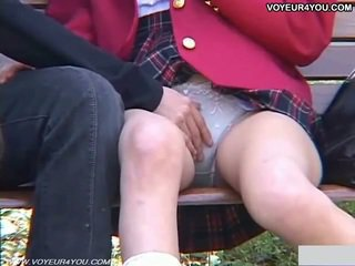 Horny Teen Couples Outdoor Sex Exposure