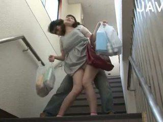 agradável morena grande, japonês qualidade, verificar ejaculação melhores