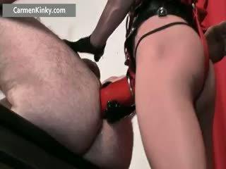 speelgoed, anaal film, groot femdom neuken