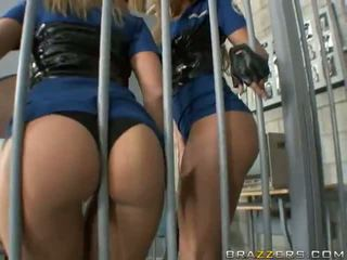 Horny Prison Guards Get Their Big Asses Banged Video