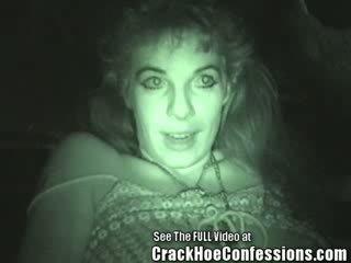 Hot Lil Hooker Gets In Car internal cumshot