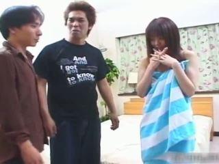 E turpshme japoneze adoleshent vajzë gets të saj me lesh part3