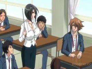 étudiant, japonais, dessin animé