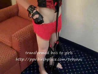 Ava Transformed by Tia Tizzianni RESTRAINED FUCKED