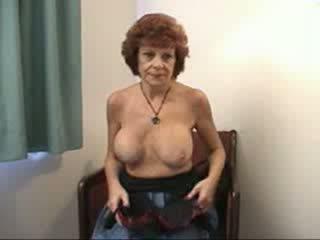 Povekas mummo sucks ja fucks