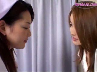 Japanese lesbian nurse sex are