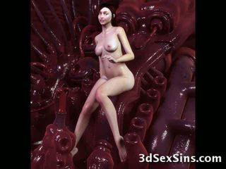 Monsters air mani di 3d babes! video