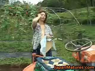 日本, 團體性交, 大胸部, 戶外
