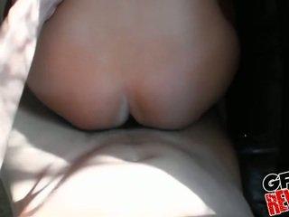brunette video-, neuken klem, nieuw realiteit porno