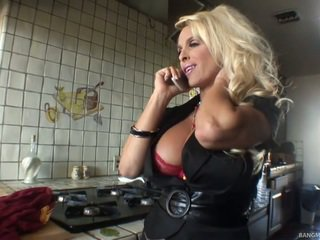 Pirang mom has made love by her step son