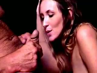 watch brunette, rated blowjob, any cumshot all
