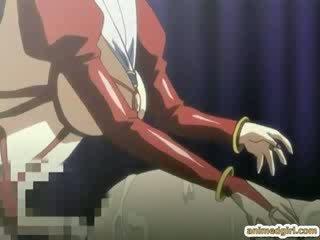 preggo cartoon bondaged and shoved vibrators into her butt wetp
