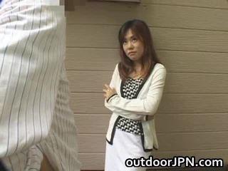 mooi japanse thumbnail, een amateur meisje, heet oosters porno