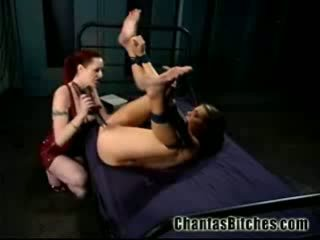 Her Lesbian BDSM Slave!