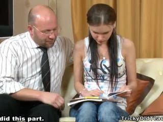 Tricky guru seducing murid
