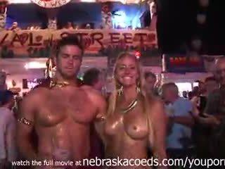 Nudity everywhere auf die streets von key west florida