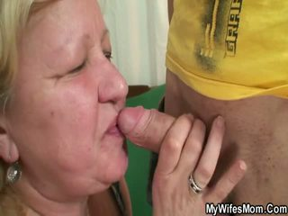 Wife Finds Her Man Fucking Oustanding Grandmother