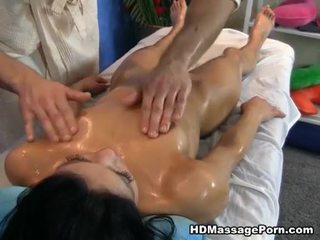 brunette watch, great big dick, oil most