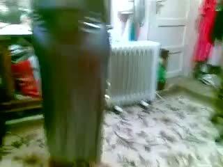 놀랄만한 이집트의 큰 아름다운 여자 섹시한 dance