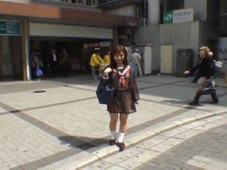 japansk, voyeur, amatör tjej, oriental